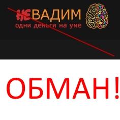 Проект неВадим от мошенника Вадима Озерова. Отзыв