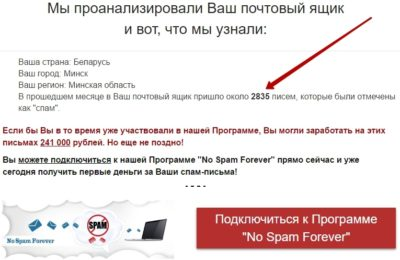 Спам-Деньги - мошенничество. Отзыв