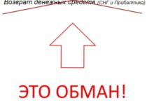 Сервис компенсаций – возврат денежных средств (СНГ и Прибалтика) — отзывы о лохотроне