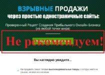Взрывные продажи или «кот в мешке» Алексея Дементьева. Отзывы о Makers.bz