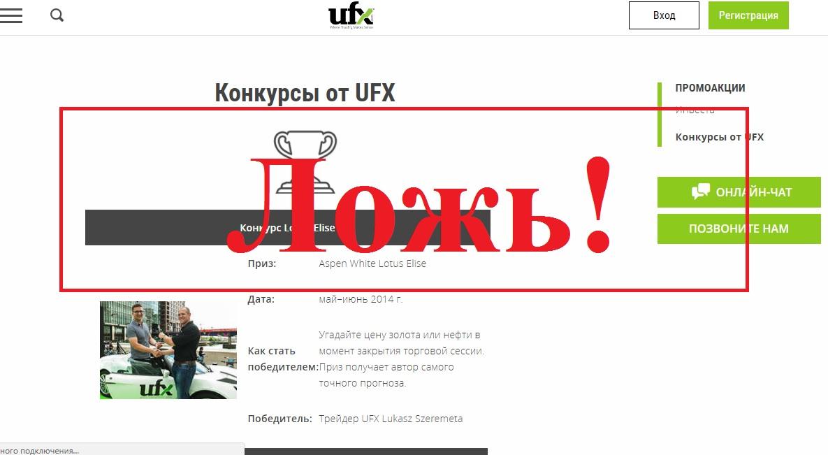 Брокер, у которого «торгуют» Андрес Иньеста и Майк Тиндалл. Отзывы о UFX Global