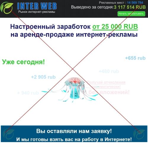 Inter Web – рынок интернет-рекламы. Отзывы