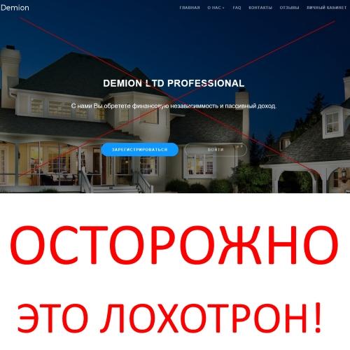 DEMION LTD PROFESSIONAL – отзывы о компании