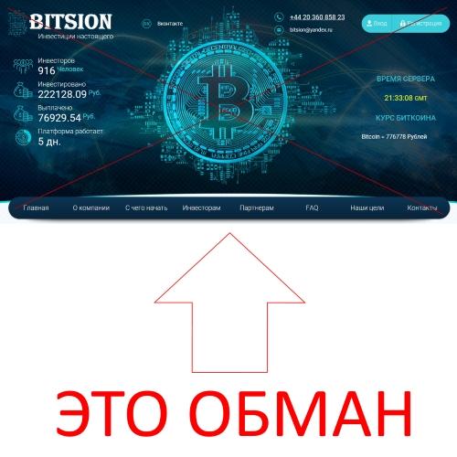 BITSION – инвестиции будущего. Отзывы