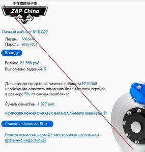 ZAP China – сервис по доставке автозапчастей из Китая. Отзывы
