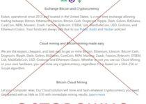 Eobot – отзывы о платформе для облачного майнинга