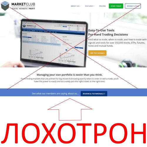 MARKETCLUB – отзывы о трейдинговой компании