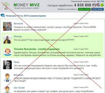Money Mivz. Отзывы о сайте