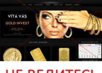 Gold Invest – отзывы об инвестиционном проекте
