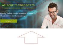 Инвестиционный проект VARIO BIT LTD – отзывы о площадке