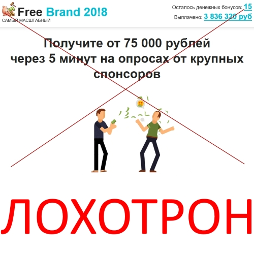 Grand-Offer 20!8, FreeBrand 20!8 и Gift Away 20!8 – отзывы об акции