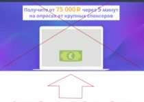 Всероссийский опрос с оплатой от спонсоров. Отзывы
