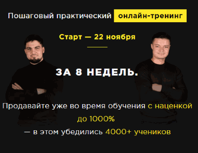 Тренинги от Кирилла Кафтаника и Дмитрия Петруля. Отзывы о проекте SONMAX
