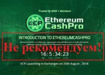 Токены альтернативной валюты. Отзывы о Ethereum Cash Pro
