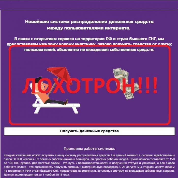 Система распределения денег Avertmoney — отзывы о лохотроне