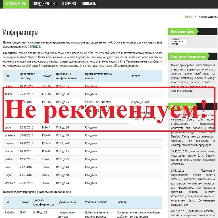 Владельцы сайта не несут ответственности! Отзывы о проекте izibet.ru