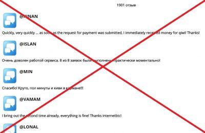 Компания Internetbtc - отзывы о мошенниках