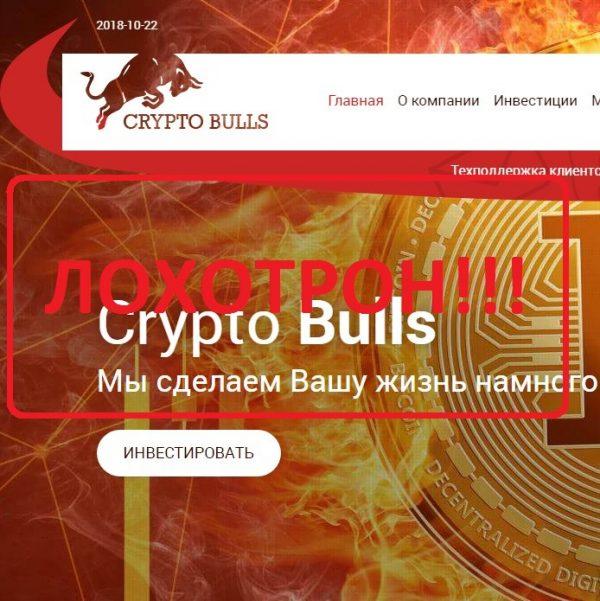 CryptoBulls — отзывы о лохотроне
