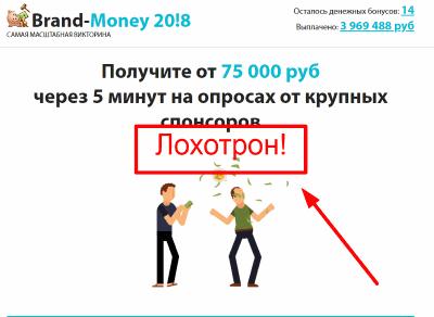 Brand-Money 2018 — Самая масштабная Викторина отзывы