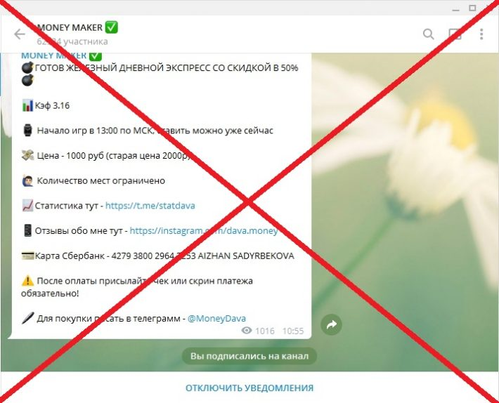 Давид Манукян - ставки от блогера dava.money, отзывы