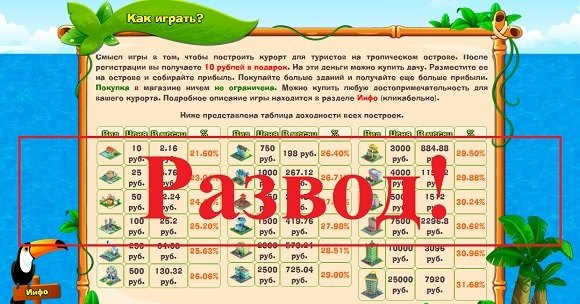 Island Money - онлайн игра money-island.biz, отзывы