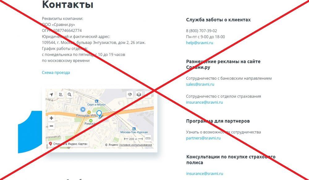 Сравни.ру банки кредиты рубцовск