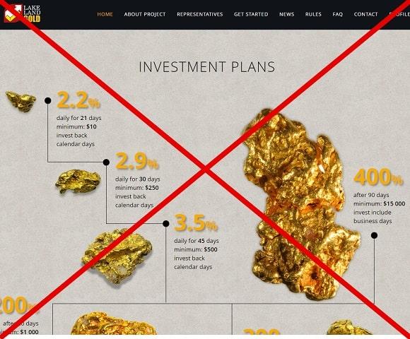 Lakeland Gold Limited - отзывы. Золото с lakelandgold.com