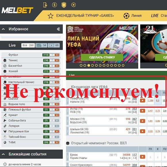 МелБет букмекерская контора – отзывы и обзор Melbet