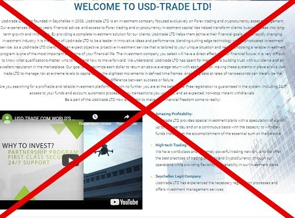 Usd-Trade: отзывы и обзор usd-trade.com