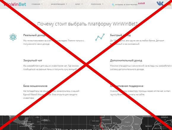 WinWinBet: отзывы и обзор winwinbet.biz