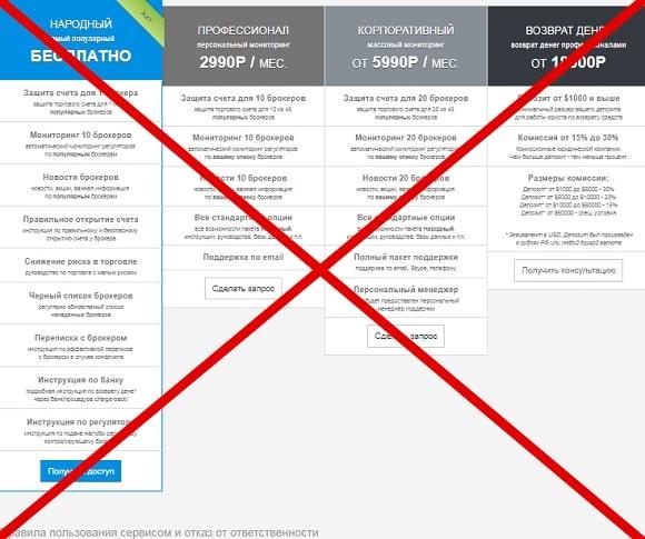 Защита депозита: отзывы  и обзор проекта deposit-protection.com