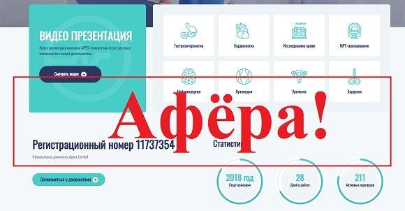 Appex Limited – деньги на медицине с appex.ink