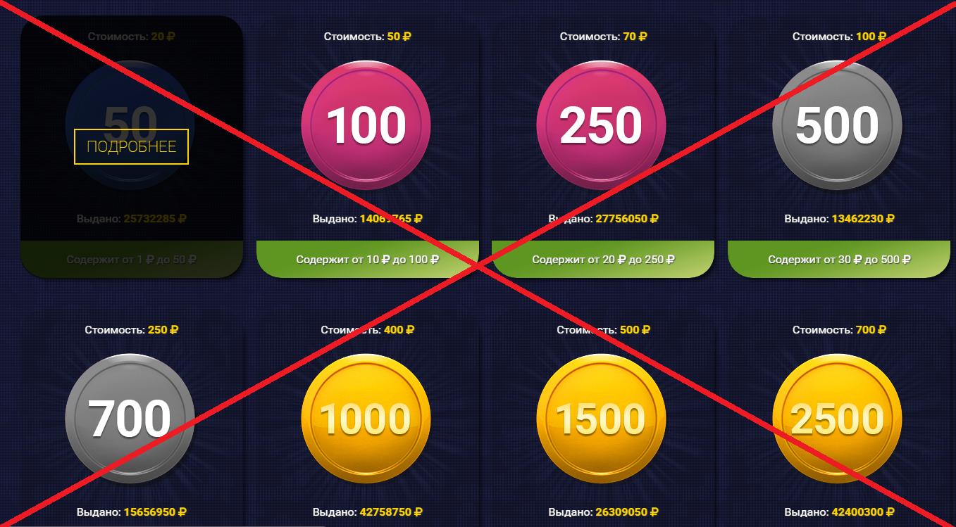 CoinsCube - кейсы с деньгами