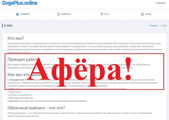 DogePlus.online - отзывы