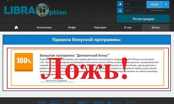 LibraOption – отзывы и обзор libraoption.com