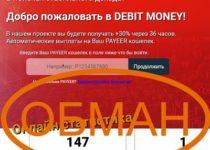 Debit Money — быстрые деньги от debit-money.space отзывы