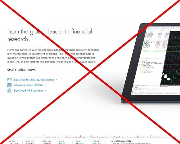 FxPro - отзывы о Форекс брокере fxpro.com