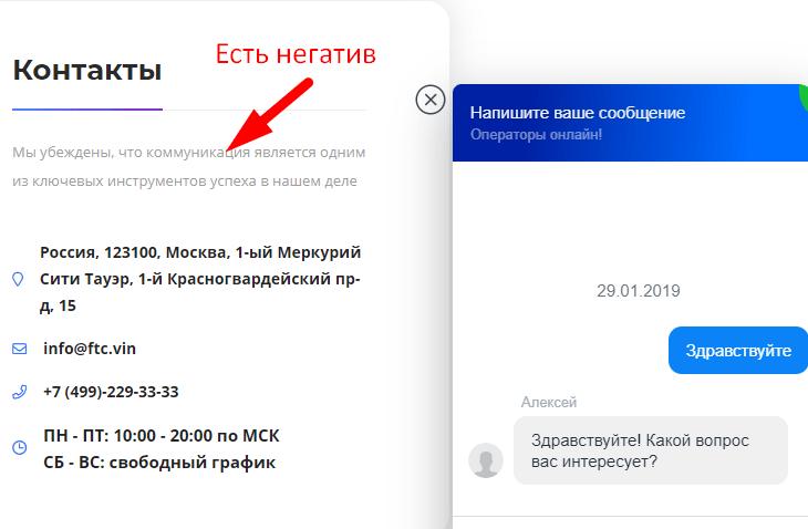 контакты Future Technologies Company