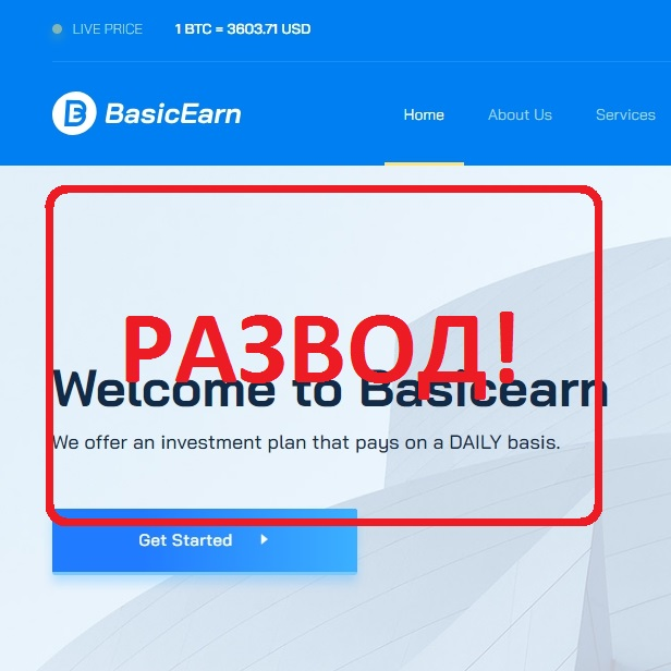Basic Earn — отзывы и анализ проекта basicearn.com