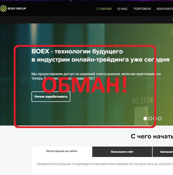 BoexGroup — отзывы и анализ boexgroup.com
