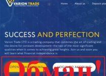 Отзывы о Varion Trade – торговая компания variontrade.com