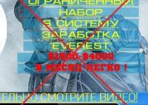 Система заработка EVEREST SYSTEM PRO от Леонида Терлеева — отзывы о курсе