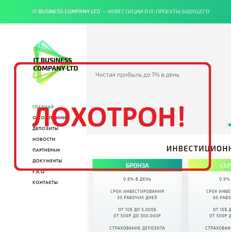 Отзывы о IT Business Company — инвестиции с itbuscom.com