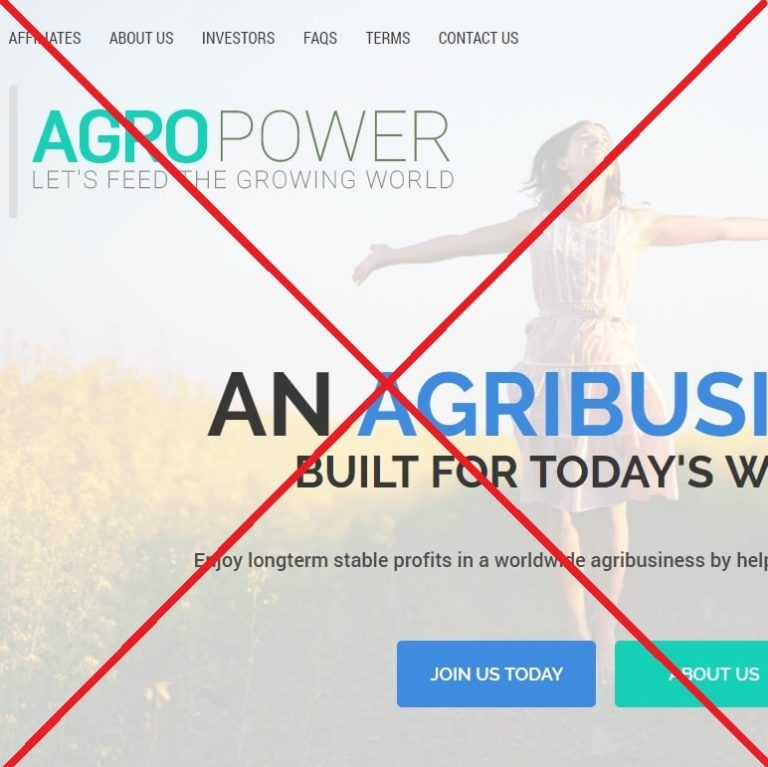 Agropower.biz — сомнительный проект. Отзывы