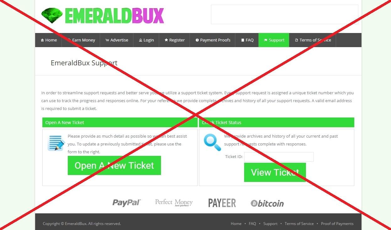 Отзывы о буксе EmeraldBux - платит или нет?