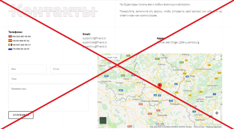 Отзывы о Finaxis - обзор платформы