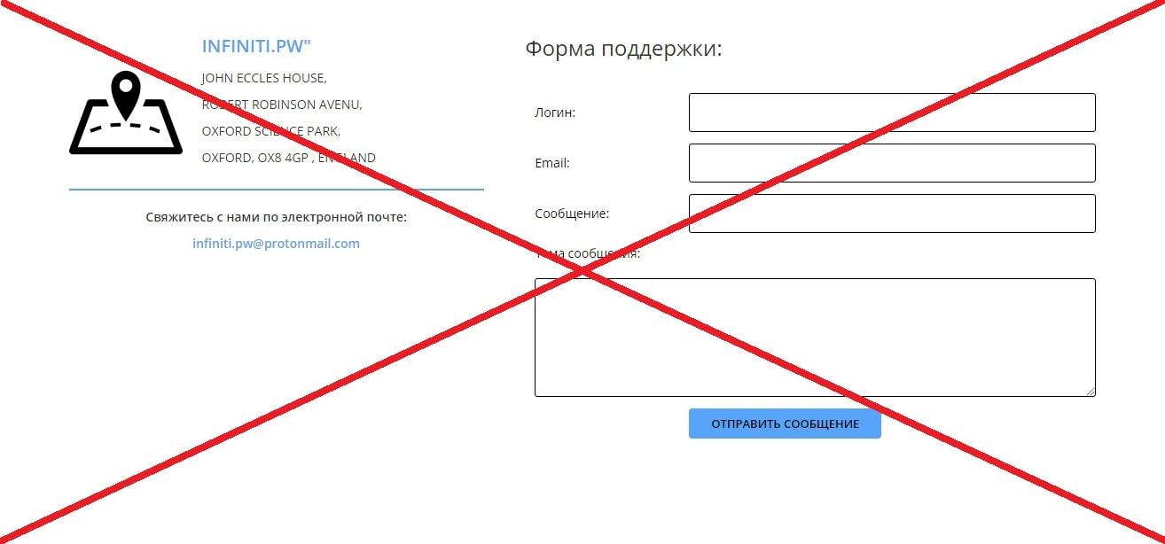 Отзывы о Infiniti - инвестиции в infiniti.pw