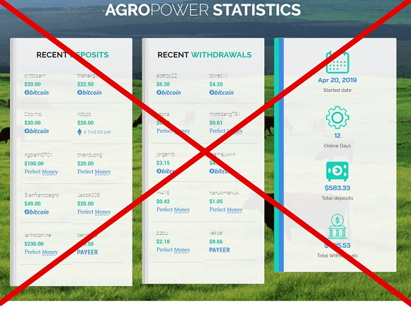 Agropower.biz - сомнительный проект. Отзывы