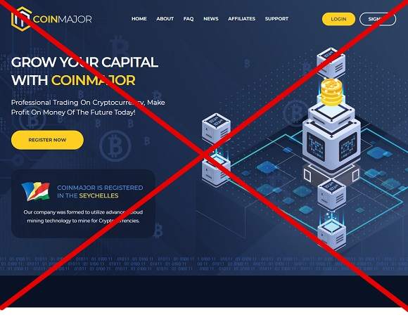 Coinmajor.net - хайп на криптовалюте
