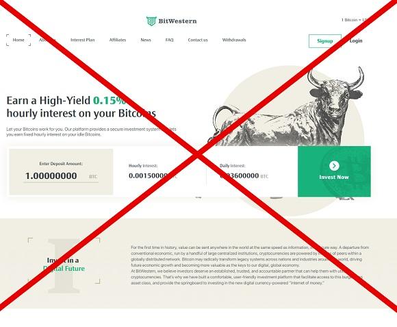 Обзор BitWestern.io - отзывы и анализ